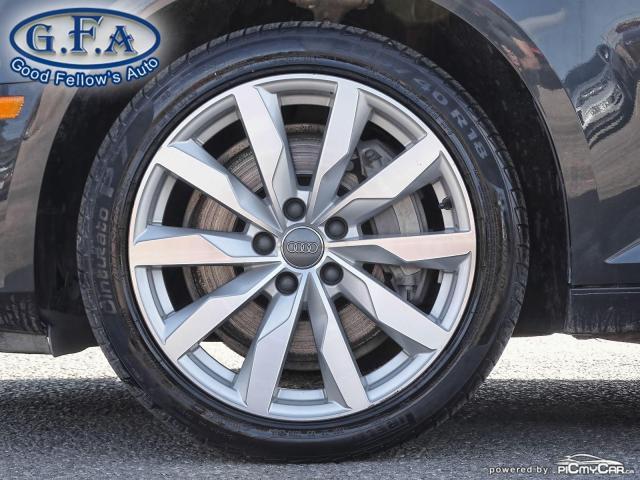 2017 Audi A4 KOMFORT, QUATTRO, LEATHER SEATS, AWD, MEMORY SEATS Photo6