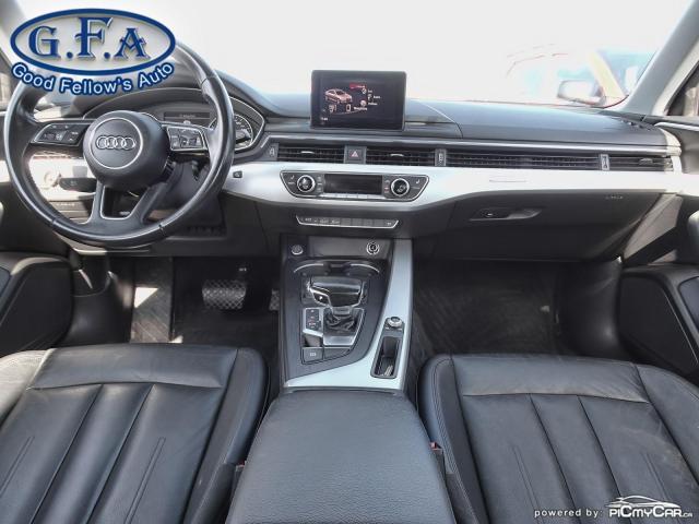 2017 Audi A4 KOMFORT, QUATTRO, LEATHER SEATS, AWD, MEMORY SEATS Photo13