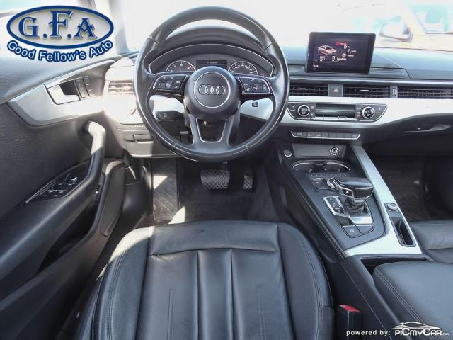 2017 Audi A4 KOMFORT, QUATTRO, LEATHER SEATS, AWD, MEMORY SEATS Photo14