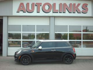 Used 2016 MINI Cooper sunroof 3dr hatchback  low low kms for sale in St Catharines, ON