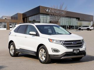 Used 2016 Ford Edge SEL | No Accident | Rear Camera | Parking Sensors | for sale in Winnipeg, MB