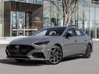 New 2021 Hyundai Sonata N Line for sale in Winnipeg, MB