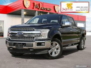 Used 2018 Ford F-150 Lariat Sunroof, Command Start, 4X4, Heated & Cooled Seats for sale in Brandon, MB