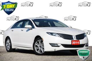 Used 2014 Lincoln MKZ ACCIDENT FREE   2.0L I4   NAV   LEATHER for sale in Kitchener, ON