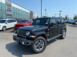 New 2021 Jeep Wrangler UNLIMITED SAHARA NAVI 2 TOPS LEATHER HEATED SEATS for sale in Pickering, ON