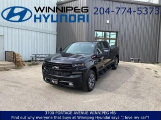 Used 2020 Chevrolet Silverado 1500 RST - EZ-Lift tailgate, Lockable under seat storage for sale in Winnipeg, MB