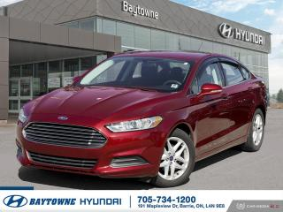Used 2016 Ford Fusion SE FWD for sale in Barrie, ON