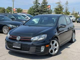 Used 2010 Volkswagen Golf GTI 6 speed manual for sale in Bolton, ON