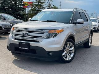 Used 2013 Ford Explorer Limited|Navi|Roof|Heated and cooled seats| for sale in Bolton, ON