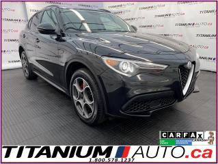 Used 2018 Alfa Romeo Stelvio 2.99% FINANCING Sport+Pano Roof+Camera+Power Liftg for sale in London, ON