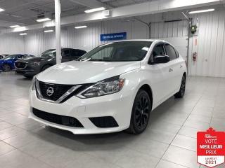 Used 2018 Nissan Sentra SV - CAMERA + TOIT + S. CHAUFFANTS + JAMAIS ACCIDE for sale in Saint-Eustache, QC