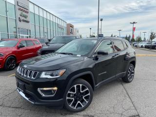 New 2021 Jeep Compass LIMITED 4X4 PANOSUNROOF LEATHER TRAILER TOW GROUP for sale in Pickering, ON