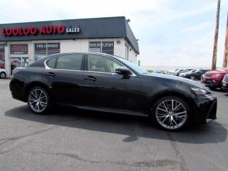 Used 2017 Lexus GS 350 AWD EXECUTIVE PKG No Accident Navi Camera Certified for sale in Milton, ON