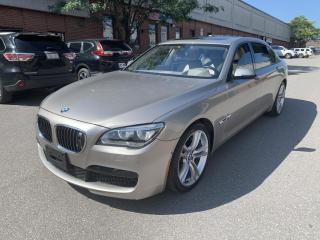 Used 2014 BMW 7 Series 4dr Sdn 760Li RWD, M SPORT PKG, EXECUTIVE PKG, NO ACCIDENT for sale in North York, ON