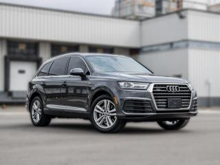 Used 2018 Audi Q7 PROGRESSIV|S-LINE|NAV|PANOROOF|ACC|B.SPOT|CLEANCARFAX for sale in North York, ON