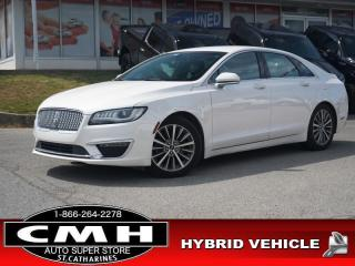 Used 2017 Lincoln MKZ Select  HYBRID NAV CAM LEATH HTD-S/W 18-AL for sale in St. Catharines, ON