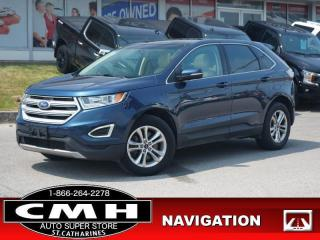Used 2017 Ford Edge SEL  NAV CAM ROOF LEATH HTD-SEATS P/GATE 18-AL for sale in St. Catharines, ON
