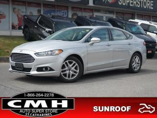 Used 2016 Ford Fusion SE  CAM ROOF LEATH P/SEATS HTD-SEATS 17-AL for sale in St. Catharines, ON