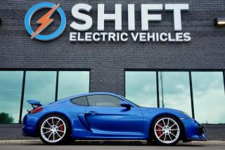 Used 2016 Porsche Cayman GT4 LOW KM, GORGEOUS, CARFAX CLEAN for sale in Oakville, ON