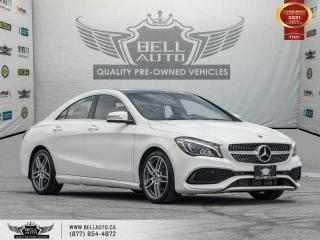 Used 2018 Mercedes-Benz CLA-Class CLA 250, AWD, AMG, Coupe 4Door, Navi, RearCam, Pano for sale in Toronto, ON