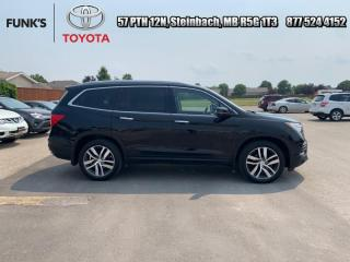 Used 2017 Honda Pilot Touring  - Sunroof -  Navigation for sale in Steinbach, MB