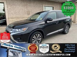 Used 2019 Mitsubishi Outlander GT* Reverse Camera/Heated Seats/7 SEATER for sale in Winnipeg, MB