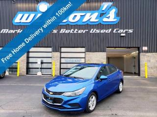 Used 2017 Chevrolet Cruze LT Sedan - Manual, Sunroof, Heated Seats, Keyless Entry, Reverse Camera, Alloy Wheels & More! for sale in Guelph, ON