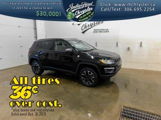 New 2021 Jeep Compass Trailhawk 4x4   Remote Start for sale in Indian Head, SK