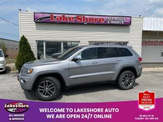 Used 2018 Jeep Grand Cherokee LIMITED Navigation for sale in Tilbury, ON