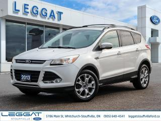 Used 2013 Ford Escape SEL for sale in Stouffville, ON