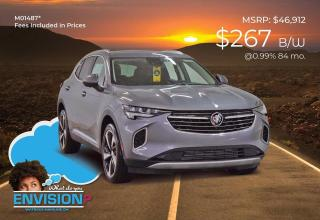New 2021 Buick Envision Essence for sale in Watrous, SK