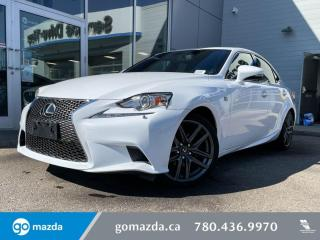 Used 2014 Lexus IS 250 IS250 -AWD, LEATHER, HEATED SEATS, BLUETOOTH, SPORTY AND LUXURIOUS for sale in Edmonton, AB