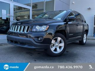 Used 2017 Jeep Compass HIGH ALTITUDE - 4X4, LEATHER, SUNROOF, HEATED SEATS, for sale in Edmonton, AB