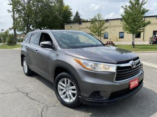 Used 2014 Toyota Highlander LE, 4WD, 8 Pass, Backup Cam, 3/Y warrty Available for sale in Toronto, ON