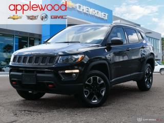 Used 2018 Jeep Compass Trailhawk ONLY 24000 KM, LEATHER, SUNROOF, 4X4, GREAT OFF ROADER for sale in Mississauga, ON