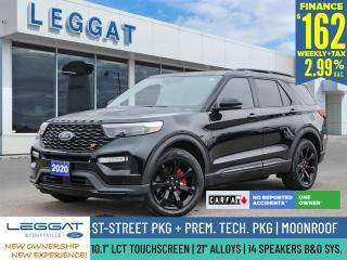 Used 2020 Ford Explorer ST | $162/WK + HST | ST STREET PKG | TECH PKG | 1 OWNER | NO ACCIDENT for sale in Stouffville, ON
