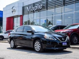Used 2018 Nissan Sentra S Bluetooth Rear View Camera Keyless Entry for sale in Maple, ON