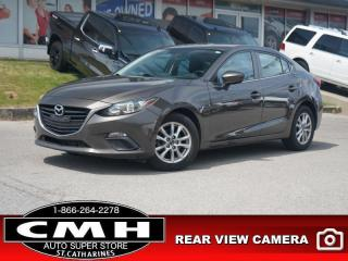 Used 2014 Mazda MAZDA3 GS-SKY  CAM BLUETOOTH S/W-AUDIO 16-AL for sale in St. Catharines, ON