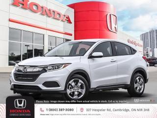 New 2022 Honda HR-V LX APPLE CARPLAY™ & ANDROID AUTO™ | HONDA SENSING TECHNOLOGIES | REARVIEW CAMERA for sale in Cambridge, ON