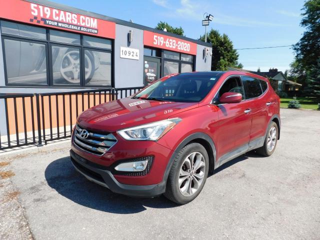 2013 Hyundai Santa Fe SE|LEATHER|PANO SUNROOF|BACKUP CAMERA