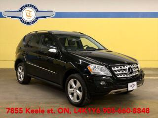 Used 2009 Mercedes-Benz M-Class 3.5L GAS, Navi, Leather, Sunroof, Only 141K for sale in Vaughan, ON