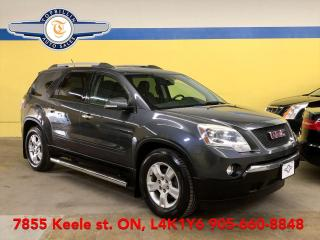 Used 2012 GMC Acadia SLE2, 7 Pass, 2 Years Warranty for sale in Vaughan, ON
