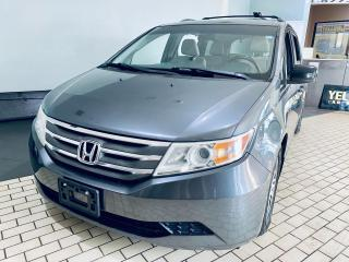 Used 2012 Honda Odyssey EX 8 PASSENGERS ALLOY BACKUP CAMERA CERTIFIED$9499 for sale in Brampton, ON