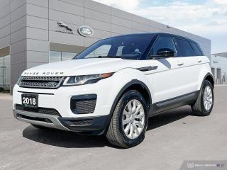 Used 2018 Land Rover Evoque SE SOLD AND DELIVERED for sale in Winnipeg, MB