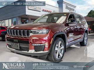 New 2021 Jeep Grand Cherokee All-New L Limited for sale in Niagara Falls, ON