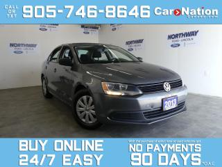 Used 2013 Volkswagen Jetta Sedan TRENDLINE | A/C | AUTO | OPEN SUNDAYS! for sale in Brantford, ON