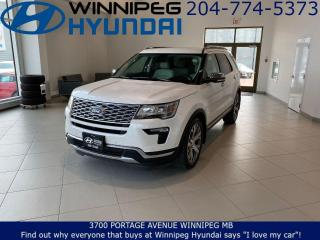 Used 2019 Ford Explorer PLATINUM - Ambient lighting, Heated front and rear seats, Sony audio system for sale in Winnipeg, MB