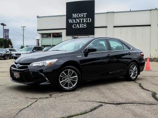Used 2016 Toyota Camry HYBRID SE   HYBRID   CAMERA   LEATHER   ALLOY   BLUETOOTH for sale in Kitchener, ON