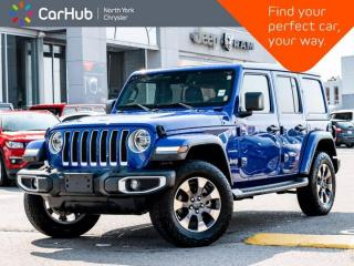 Used 2019 Jeep Wrangler Unlimited Sahara 4x4 Sky Roof Heated Leather Seats Navigation for sale in Thornhill, ON