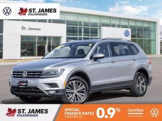 Used 2020 Volkswagen Tiguan Highline, CLEAN CARFAX, ADAPTIVE CRUISE CONTROL, PANORAMIC SUNROOF for sale in Winnipeg, MB